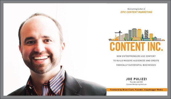 Content Inc af Joe Pulizzi – en god bog til efteråret